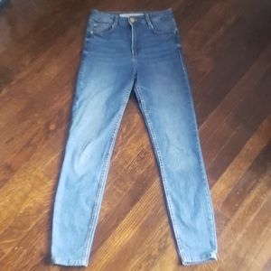 Zara Jeans - Zara Trafaluc Denim Skinny High Rise Jeans